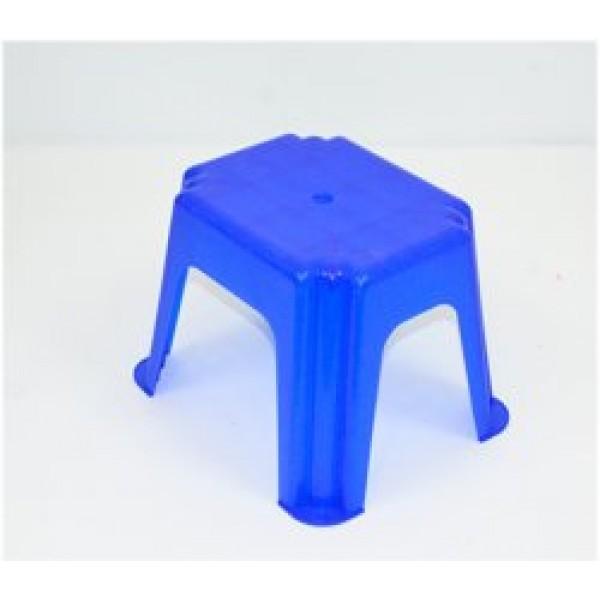 """Стульчик маленький прямоугольный - цвет синий """"K-PLAST"""""""