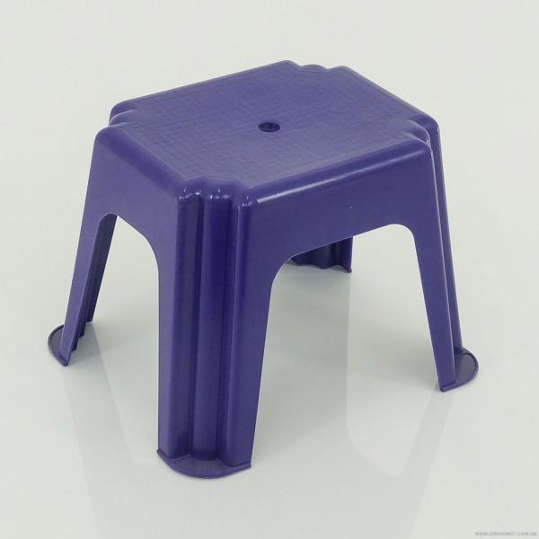 """Стульчик маленький прямоугольный (10) - цвет фиолетовый """"K-PLAST"""""""