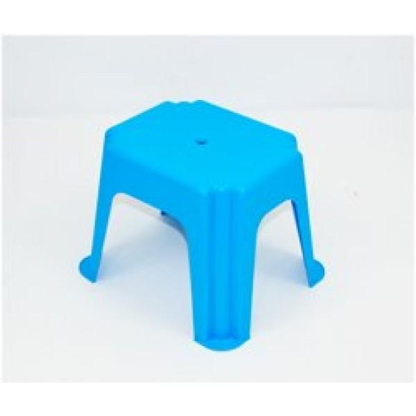 """Стульчик маленький прямоугольный (10) - цвет голубой """"K-PLAST"""""""