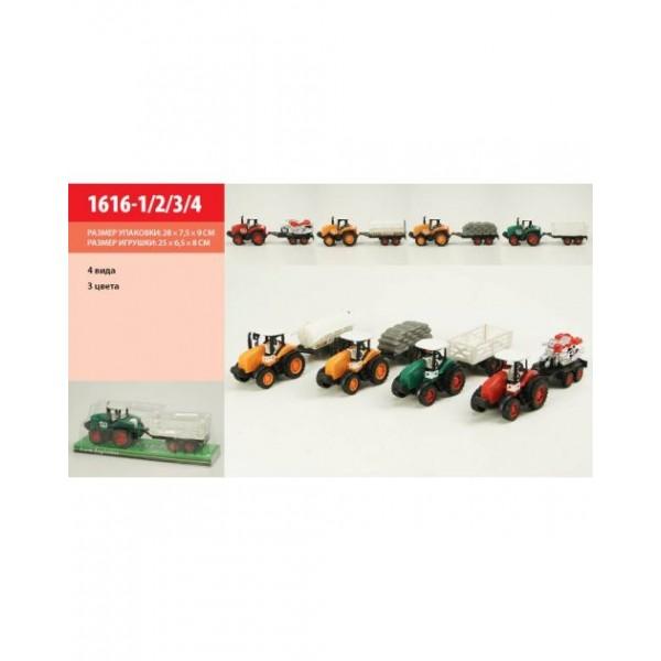 Трактор инерц (1616-1/2/3/4 )