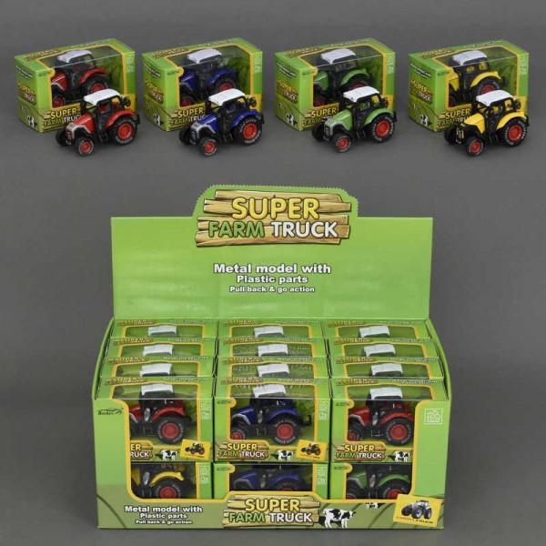 Трактор металлопластик 77043 (576)