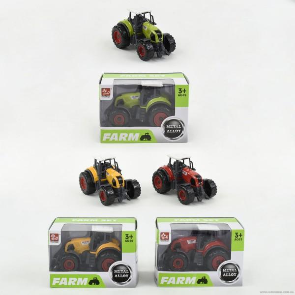 Трактор металлопластик SQ 90222-1 (288)