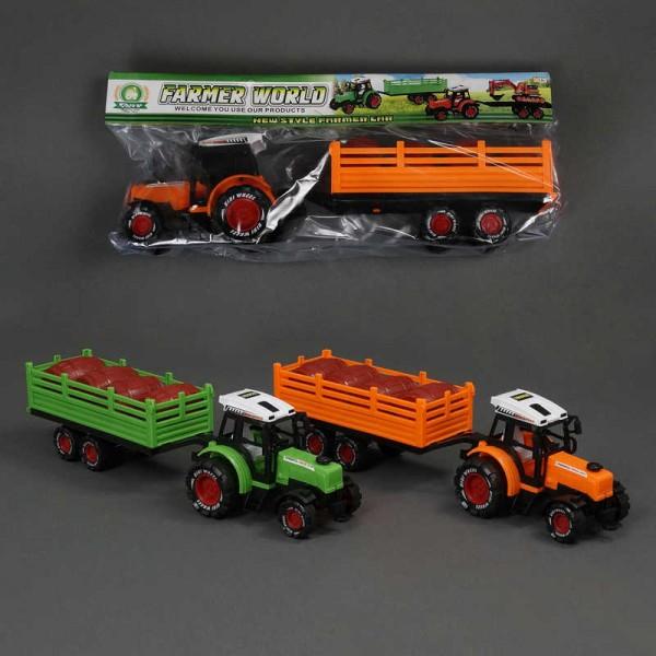 Трактор с прицепом 678-9 (48/2)