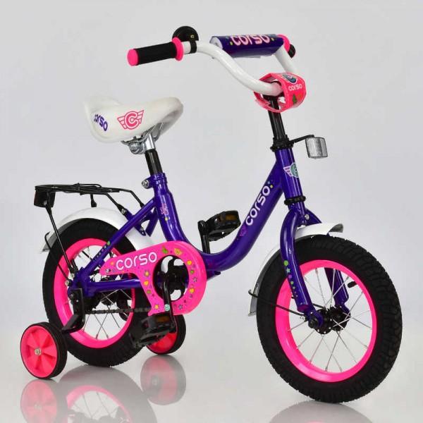 """Велосипед 12"""" дюймов 2-х колёсный С12010 """"CORSO"""" (1)"""