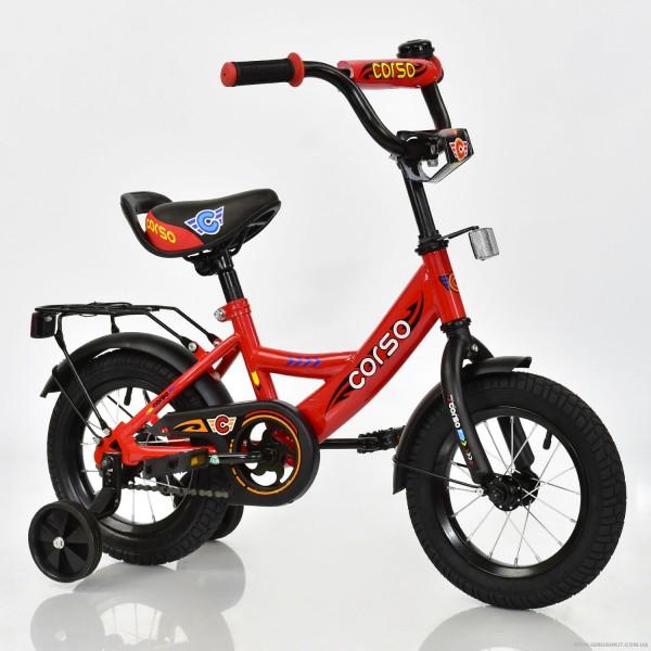 """Велосипед 12"""" дюймов 2-х колёсный С12020 """"CORSO"""" (1)"""
