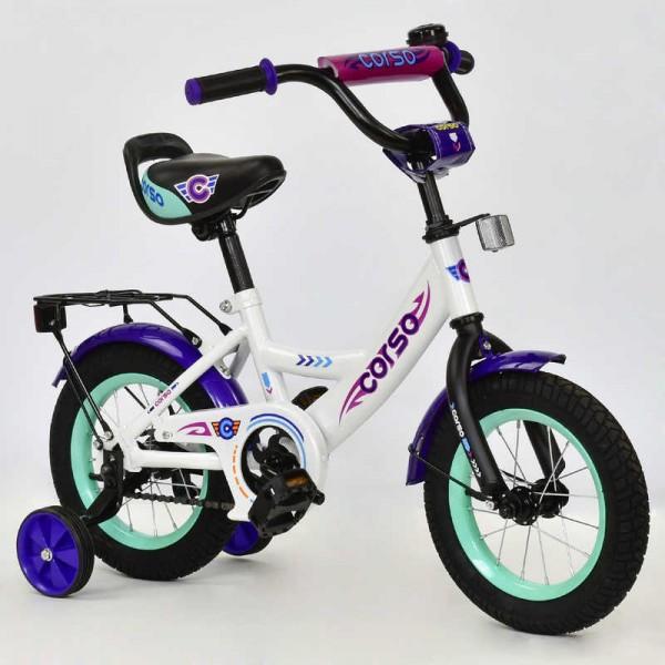 """Велосипед 12"""" дюймов 2-х колёсный С12040 """"CORSO"""" (1)"""
