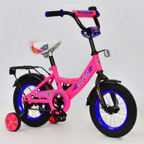 """Велосипед 12"""" дюймов 2-х колёсный С12050 """"CORSO"""" (1)"""
