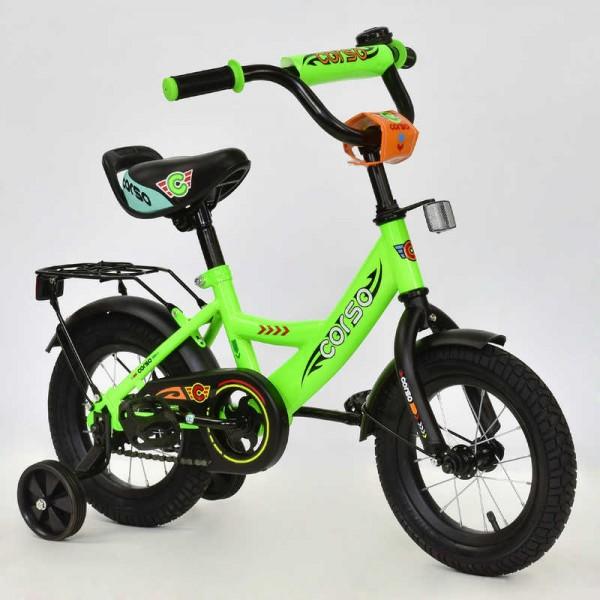 """Велосипед 12"""" дюймов 2-х колёсный С12060 """"CORSO"""" (1)"""