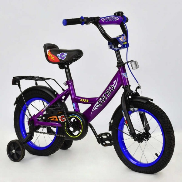 """Велосипед 14"""" дюймов 2-х колёсный С14120 """"CORSO"""" (1)"""