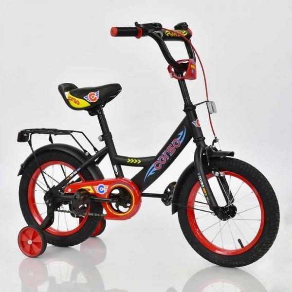 """Велосипед 14"""" дюймов 2-х колёсный С14340 """"CORSO"""" (1)"""