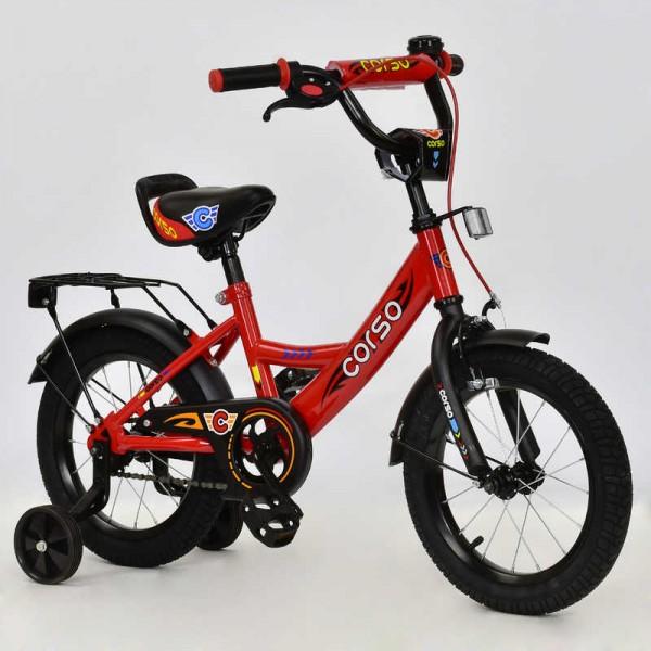 """Велосипед 14"""" дюймов 2-х колёсный С14450 """"CORSO"""" (1)"""