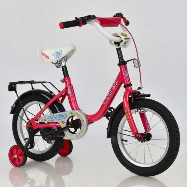 """Велосипед 14"""" дюймов 2-х колёсный С14560 """"CORSO"""" (1)"""