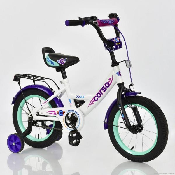 """Велосипед 14"""" дюймов 2-х колёсный С14670 """"CORSO"""" (1)"""