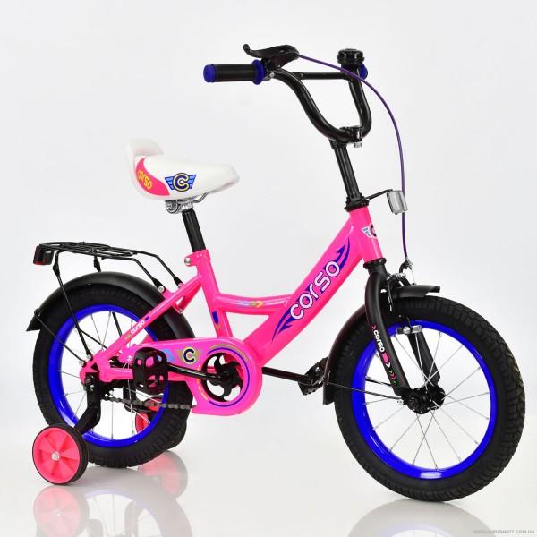 """Велосипед 14"""" дюймов 2-х колёсный С14780 """"CORSO"""" (1)"""