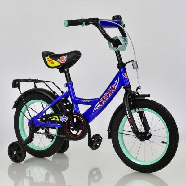 """Велосипед 14"""" дюймов 2-х колёсный С14900 """"CORSO"""" (1)"""