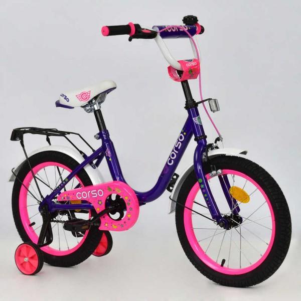 """Велосипед 16"""" дюймов 2-х колёсный С16100 """"CORSO"""" (1)"""