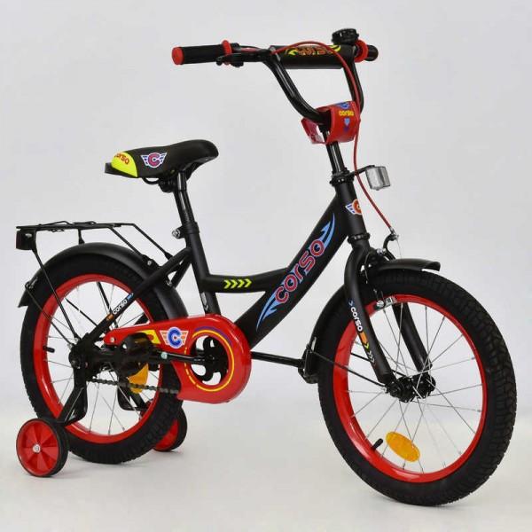 """Велосипед 16"""" дюймов 2-х колёсный С16210 """"CORSO"""" (1)"""