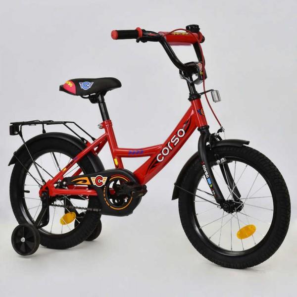 """Велосипед 16"""" дюймов 2-х колёсный С16320 """"CORSO"""" (1)"""