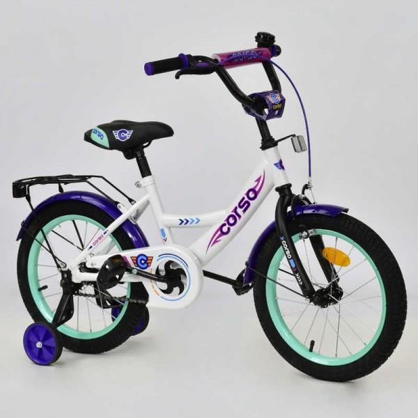"""Велосипед 16"""" дюймов 2-х колёсный С16430 """"CORSO"""" (1)"""