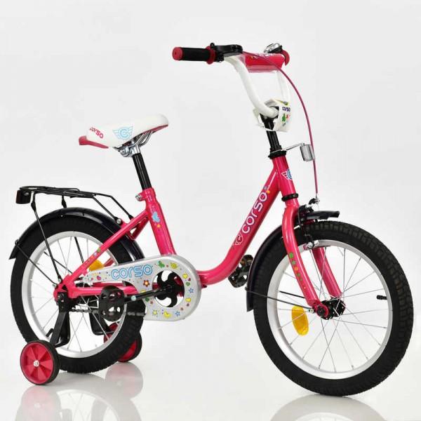 """Велосипед 16"""" дюймов 2-х колёсный С16540 """"CORSO"""" (1)"""