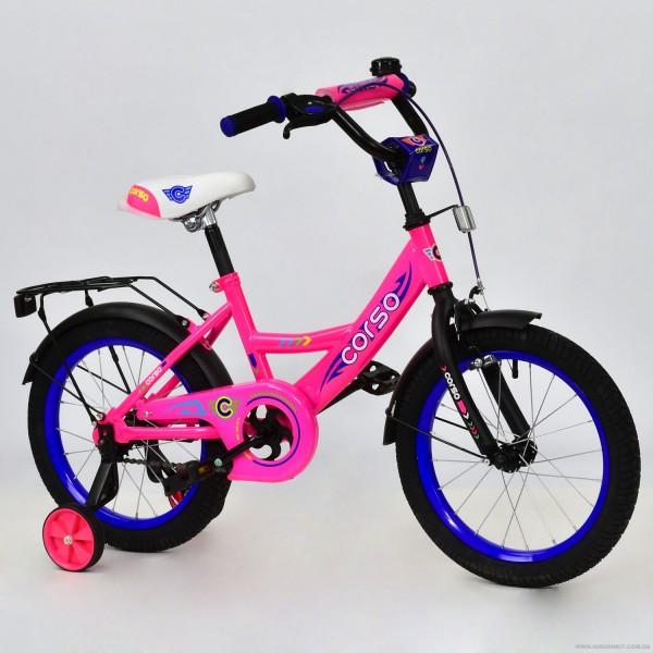 """Велосипед 16"""" дюймов 2-х колёсный С16650 """"CORSO"""" (1)"""