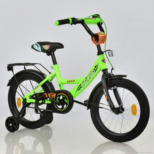 """Велосипед 16"""" дюймов 2-х колёсный С16760 """"CORSO"""" (1)"""