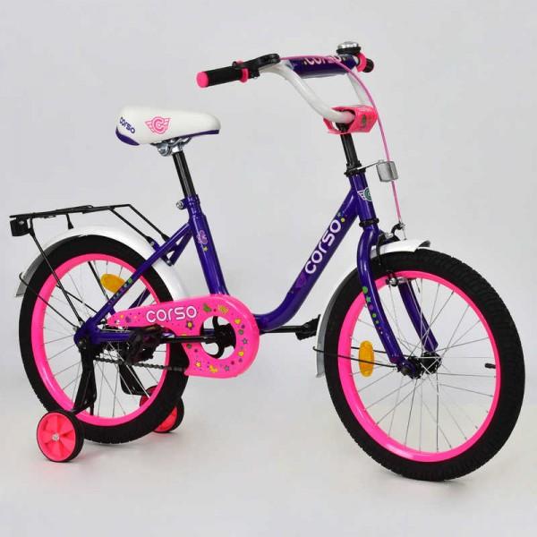 """Велосипед 18"""" дюймов 2-х колёсный С18150 """"CORSO"""" (1)"""