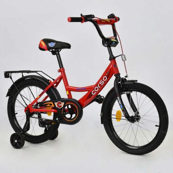 """Велосипед 18"""" дюймов 2-х колёсный С18260 """"CORSO"""" (1)"""