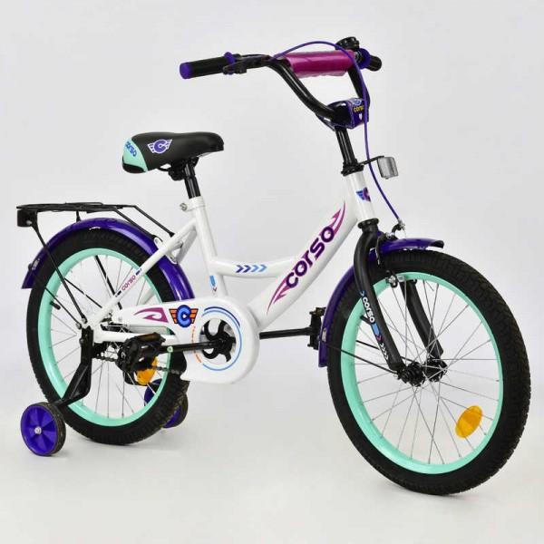 """Велосипед 18"""" дюймов 2-х колёсный С18370 """"CORSO"""" (1)"""