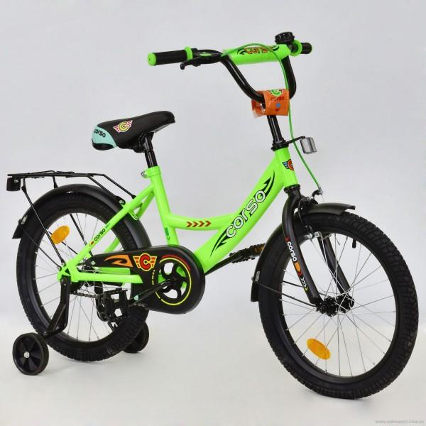 """Велосипед 18"""" дюймов 2-х колёсный С18590 """"CORSO"""" (1)"""