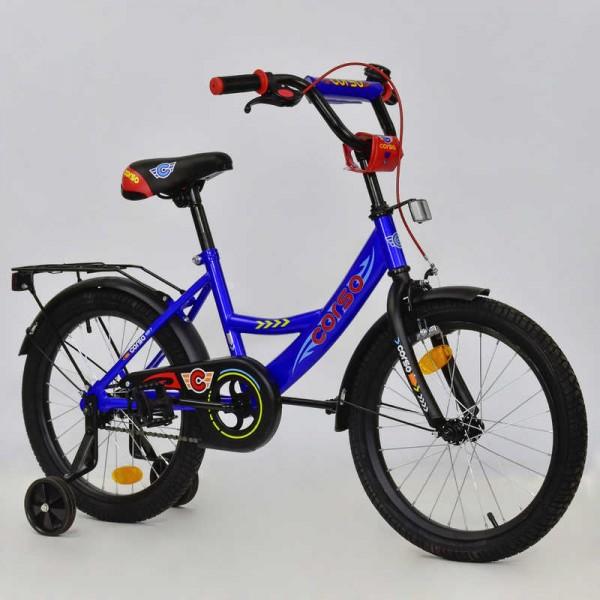 """Велосипед 18"""" дюймов 2-х колёсный С18610 """"CORSO"""" (1)"""