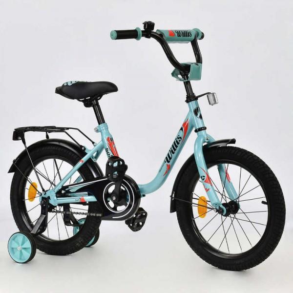 """Велосипед 2-х колёсный R 1614 """"WILLIS"""" (1)"""