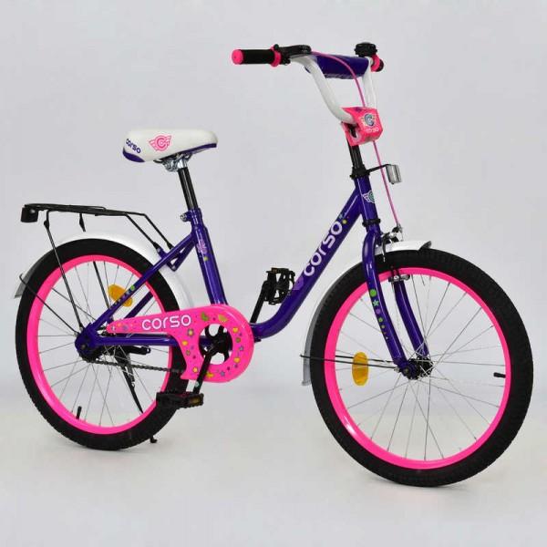 """Велосипед 20"""" дюймов 2-х колёсный С20202 """"CORSO"""" (1)"""