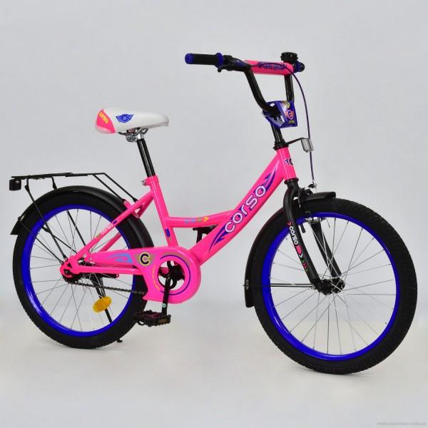 """Велосипед 20"""" дюймов 2-х колёсный С20303 (1) """"CORSO"""" (1)"""