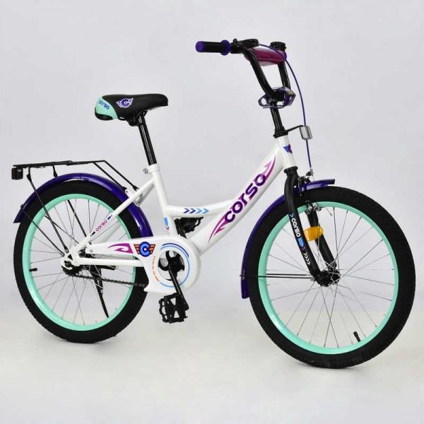 """Велосипед 20"""" дюймов 2-х колёсный С20404 (1) """"CORSO"""" (1)"""