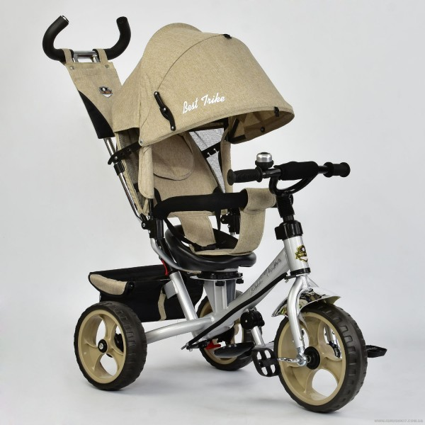 Велосипед 3-х колёс. 5700 - 3540 /БЕЖЕВЫЙ/ Best Trike (1)