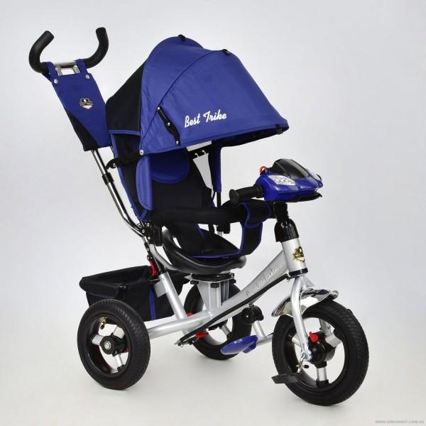 Велосипед 3-х колёс. 7700 В - 5230 /СИНИЙ/ Best Trike (1)