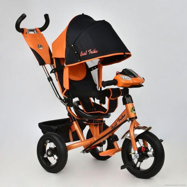 Велосипед 3-х колёс. 7700 В - 6010 /ОРАНЖЕВЫЙ/ Best Trike (1)