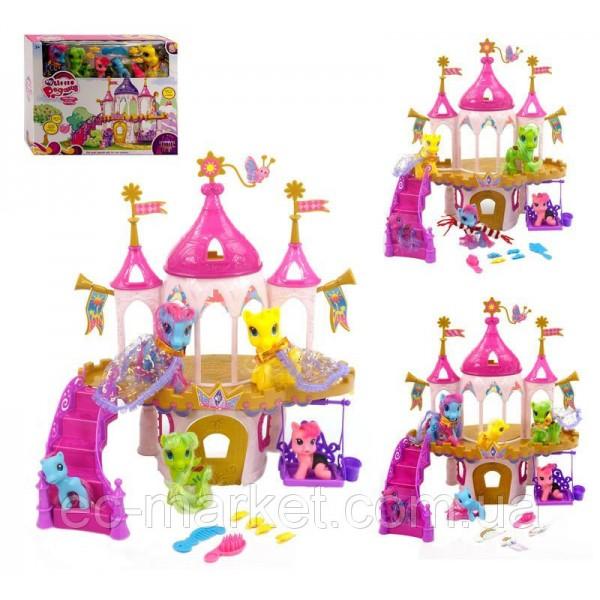 Замок пони 6628A-1-3-4
