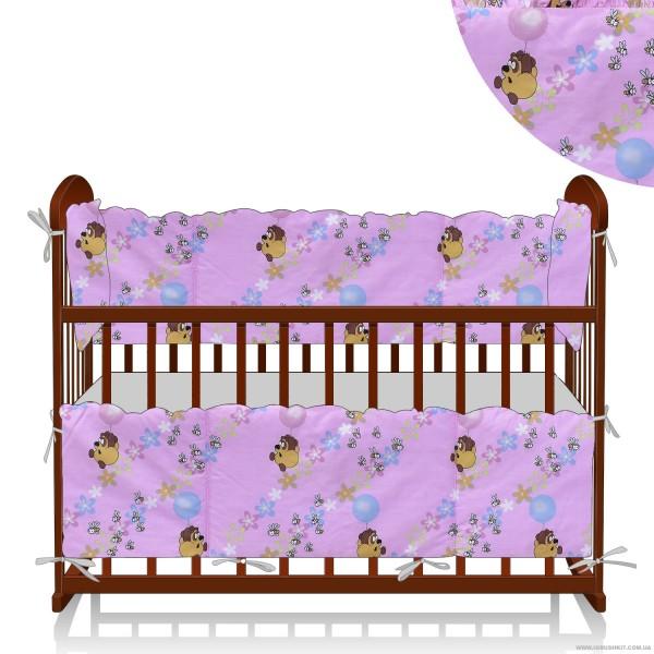 """Защита в кроватку 21089 """"Винни Пух"""""""