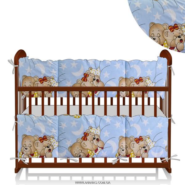 """Защита в кроватку 9711 """"Сладкий сон"""""""