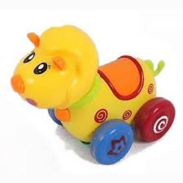 """Заводная игрушка """"Животные на колесах"""" 650F/651F/652F"""