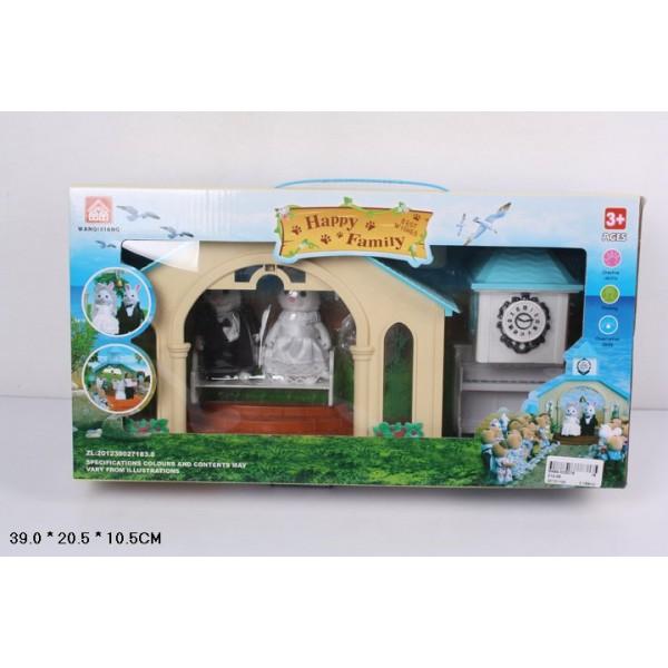 Животные флоксы Свадебная церемония 012-09