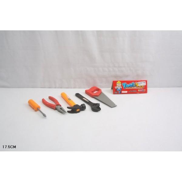 Набор инструментов  (2093-2) в пакете 17,5 см