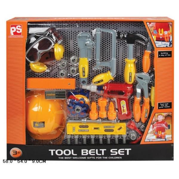 Набор инструментов  (2098) дрель, отвертка, молоток и т.д. в кор 58*54*9 см