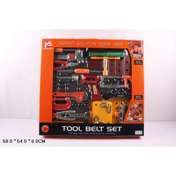 Набор инструментов  (2115) отвертка, молоток, плоскогубцы и т.д. в кор 58*54*8 см