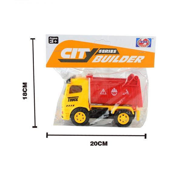 Машина  (998-45C1/D1/E1/F1) в пакете 18*20см