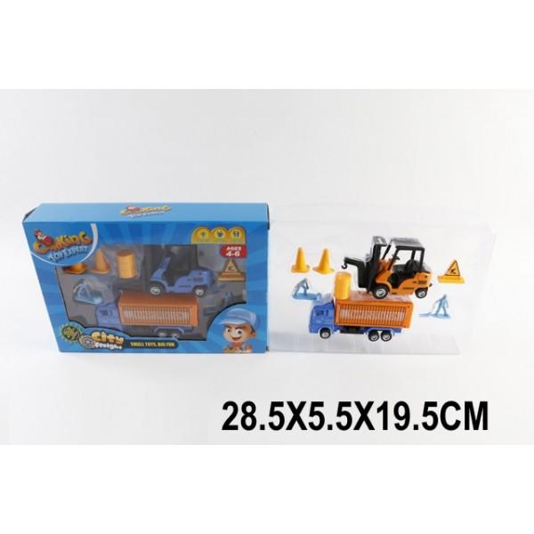 Набор транспорта  (1512652) (TH-H051) Гор.службы, в коробке 28,5*5,5*19,5см