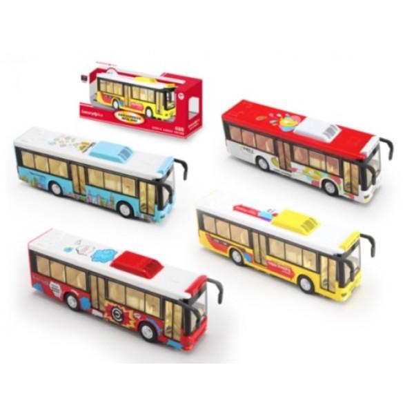 Автобус металлический 6011B