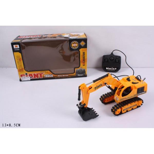 Экскаватор батар. на д/у (6882)